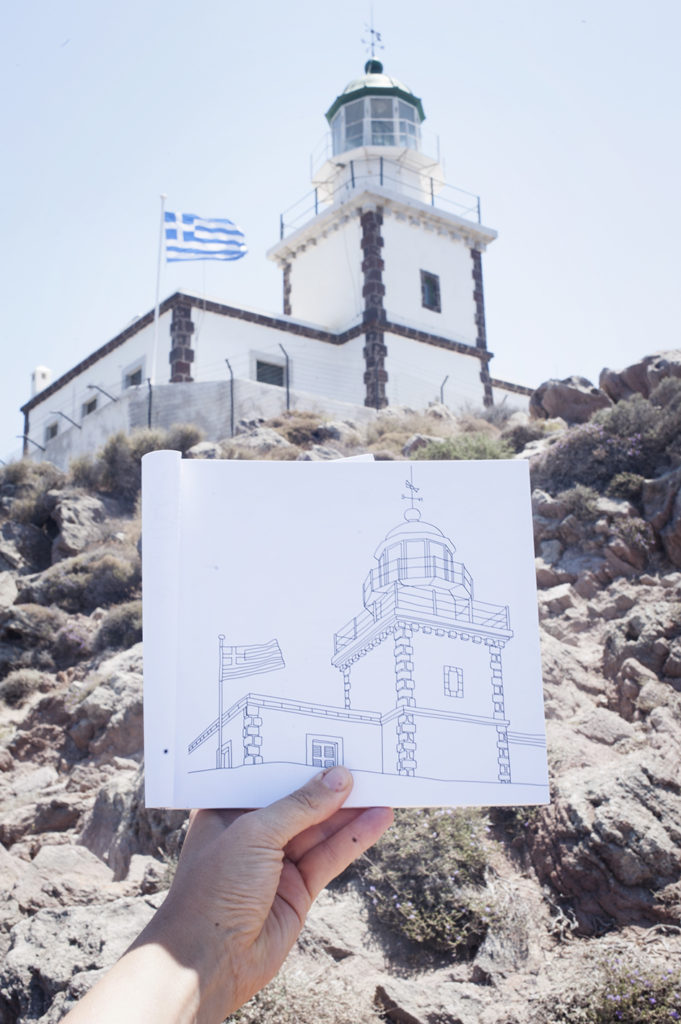 See more pages of the colour book Colour Santorini
