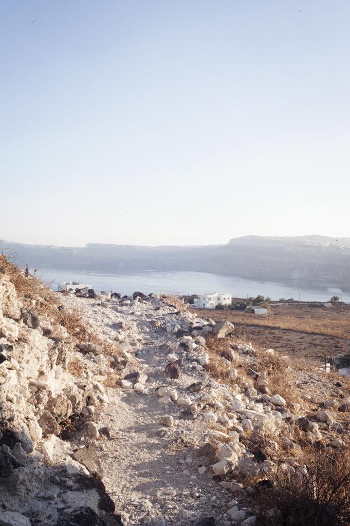 Akrotiri, south village in Santorini, Cyclades