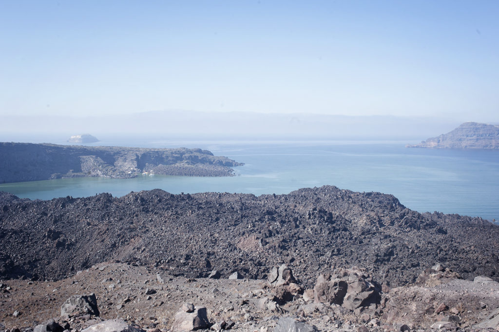Nea Kameni, day trip to the Volcano of Santorini