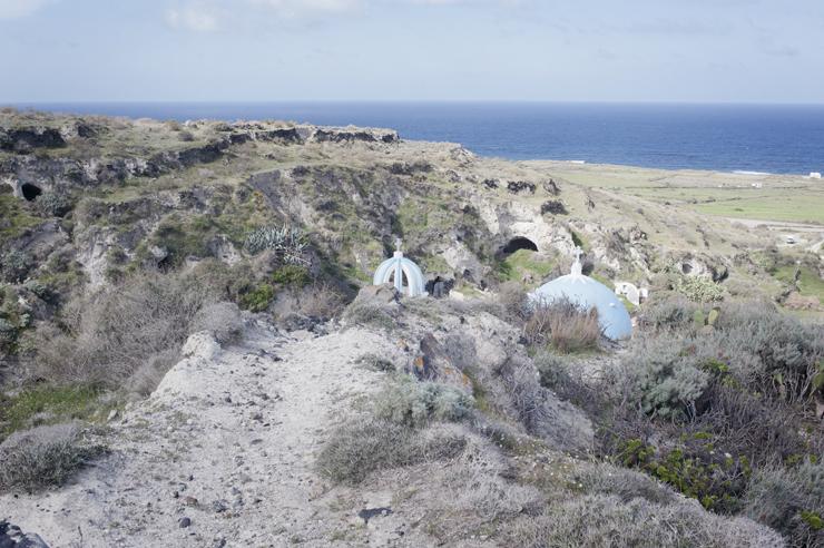 Thirassia a hidden peaceful place in Santorini