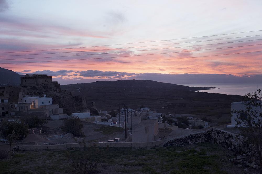 Sunrise Akrotiri Santorini