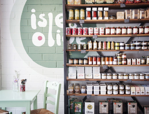 Isle of Olive a Greek Deli in east London