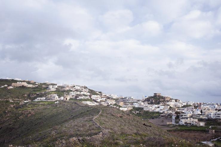 Mill in Akrotiri, Santorini