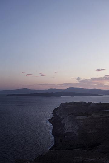 Caldera Santorini Akrotiri
