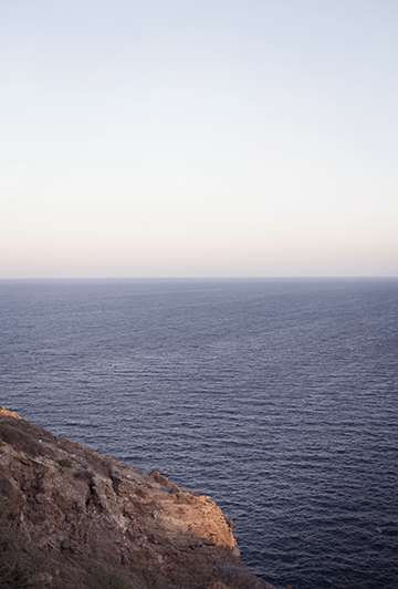 View from the Lighthouse of Akrotiri, Santorini