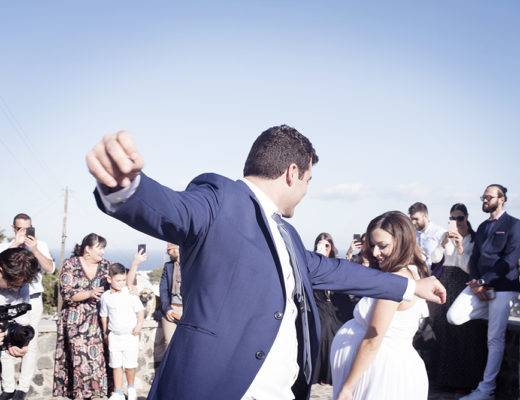 Greek Wedding in Santorini