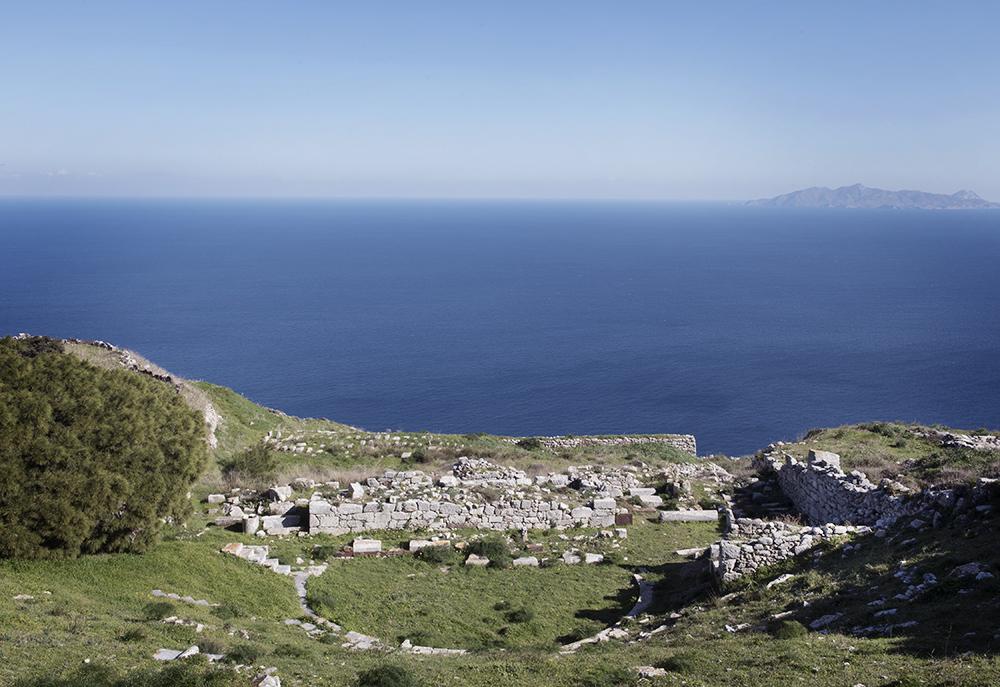 The theatre of Ancient Thera, Santorini