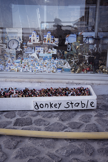 Souvenir shop in Fira, Santorini