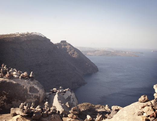 Caldera view from Oia, Santorini