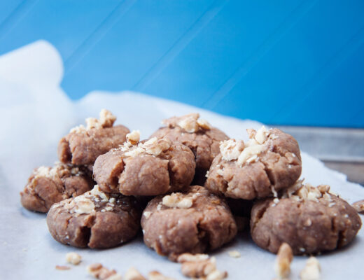 Xmas Greek Cookies, Melomakarona vegan